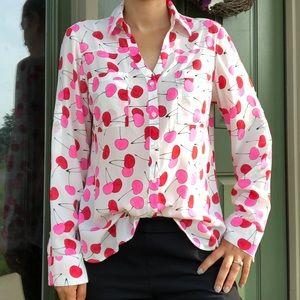 Express The Portofino Shirt Cherry Print